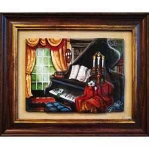 Tablou Vitraliu Muzical