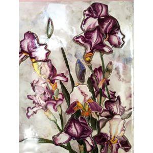 Tablou Vitraliu Floare