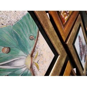 Tablou Mozaic si Vitraliu Flori