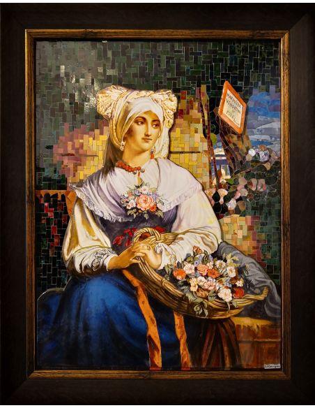 Interpretare Klimt-Goldfish(detaliu)