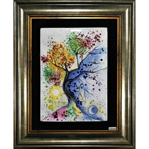Așteptări-Detaliu din Copacul Vieții de Klimt