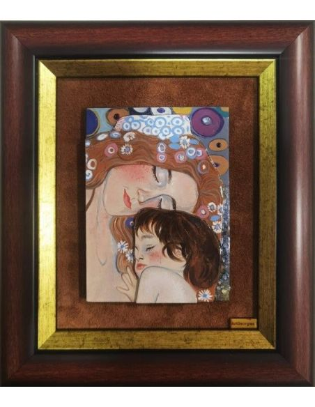 Interpretare G.Klimt - Fragment Arborele Vieții