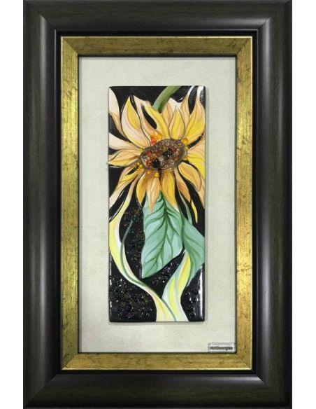 Vază cu floarea soarelui