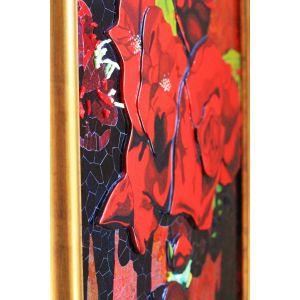 Tablou Vitraliu și Mozaic Balerina