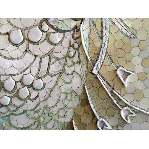Tablou Mozaic și Vitraliu Natură Moartă - Cărți