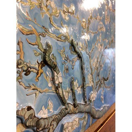 Tablou Vitraliu și Mozaic Sfânta Treime