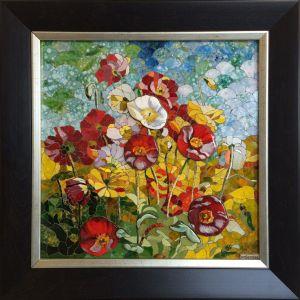 Tablou Mozaic Floarea Soarelui