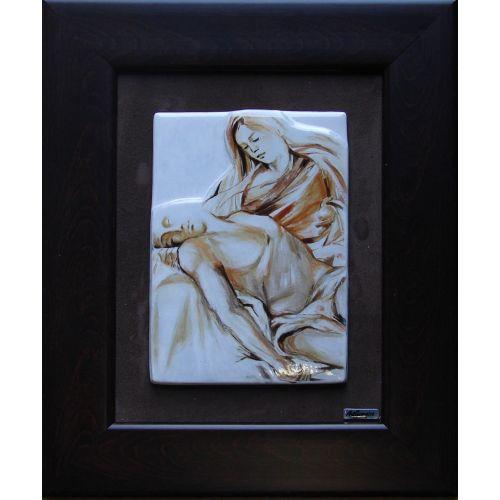 Tablou Vitraliu Pieta