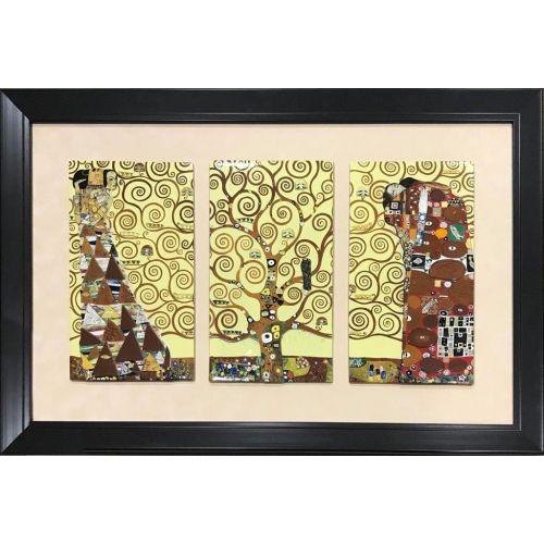 Arborele vieții - Triptic Gustav Klimt