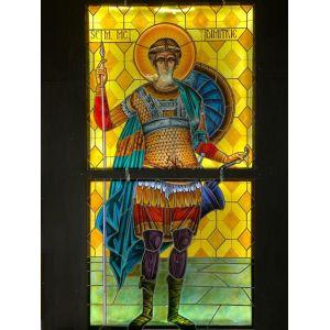 Vitraliu Sfantul Dimitrie