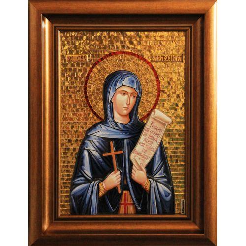 Icoană Mozaic şi Vitraliu Sfânta Parascheva