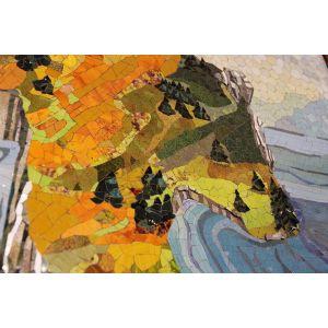 Panou Mozaic și Vitraliu Deco
