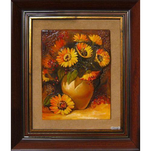 Floarea soarelui în vază