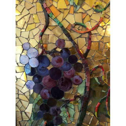 Tablou Mozaic Fata cu Cercel de Perlă